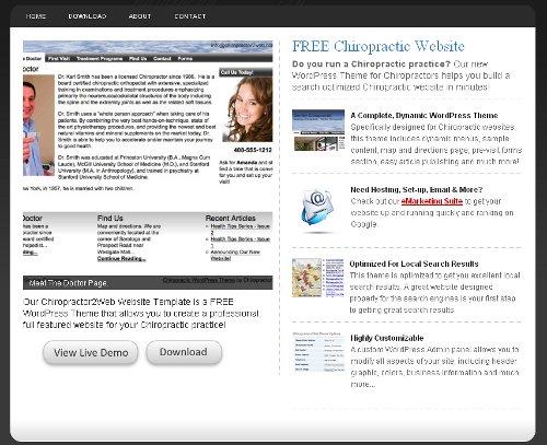 free-chiropractor-2-website