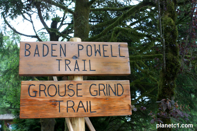 Grouse Grind Trail Baden Powell Trail