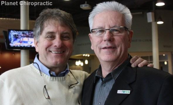 Chiropractors Joseph Lupo and Hank Cousineau at Life University