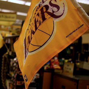 Official Los Angeles Lakers Flag