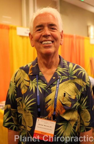 Michael McLean of International Chiropractors Association