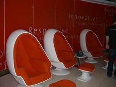 orange chairs AOL
