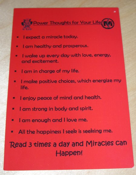 power thoughts for your life