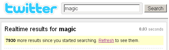 real-time results for magic - twitter search after game 3