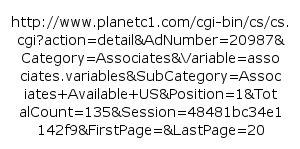 SEO unfriendly URL