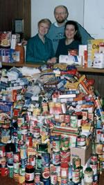 A Ton of Food! - Photo by Keith Gilbert, Wiarton Echo