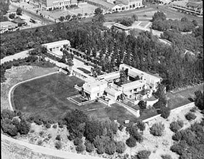 Frank Lloyd Wright  Hollyhock House  planetclaireorg