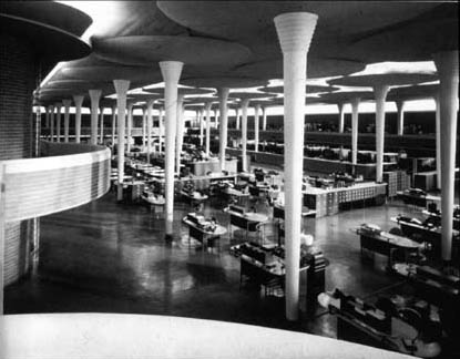 Frank Lloyd Wright  SC Johnson Wax Administrative