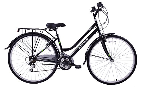 Ammaco Mayfair 700c Wheel Womens Hybrid City Bike 16