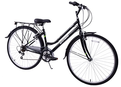 Ammaco Mayfair 700c Wheel Womens Hybrid City Bike 19