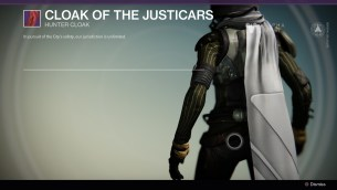Cloak of the Justicars