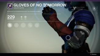 Gloves of no tomorrow