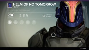 Helm of no tomorrow
