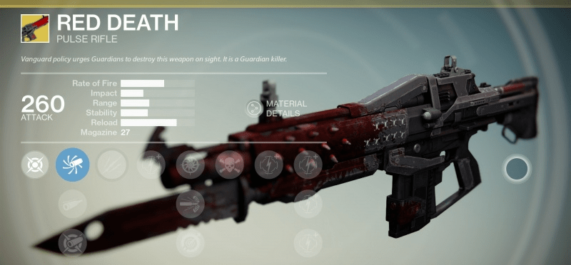 red death exotic