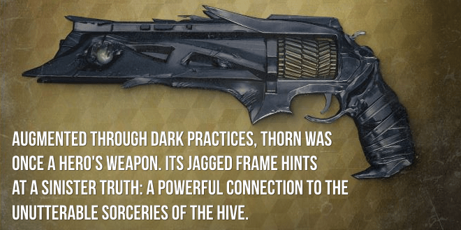 thorn exotic review