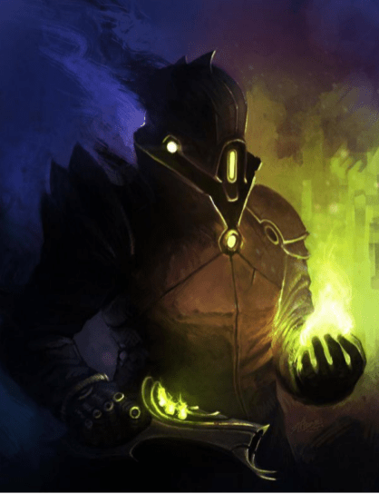 destiny fan art warlock
