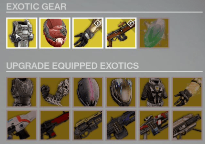 xur exotics location