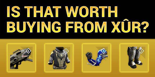 xur worth buying exotics