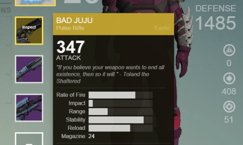 house of wolves exotic buff