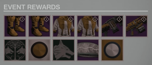 iron banner march leak