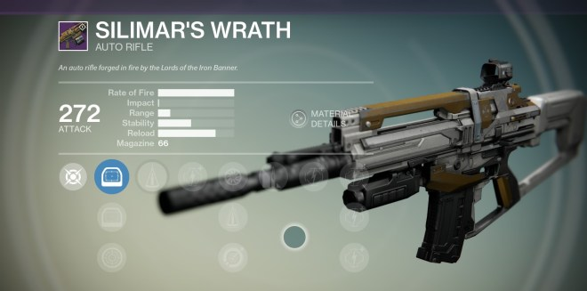 silimar's wrath iron banner