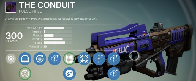 top 5 legendary pulse rifles