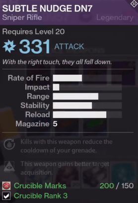 crucible weapons new perks2