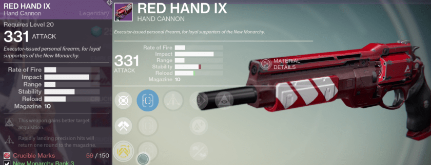 red hand ix best hand cannon