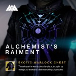 Alchemist's Raiment exotic chest
