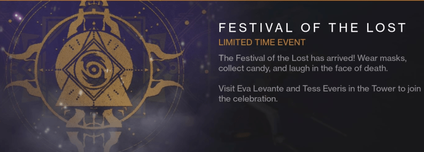 festival of the lost event