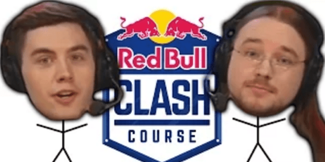 red bull clash course funny moments