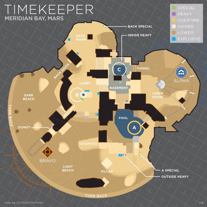 the timekeeper trials callout map