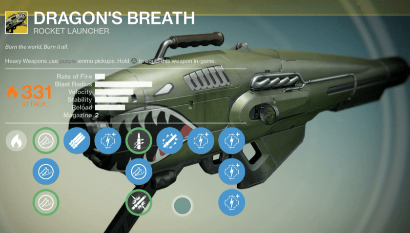 dragon's breath exotic