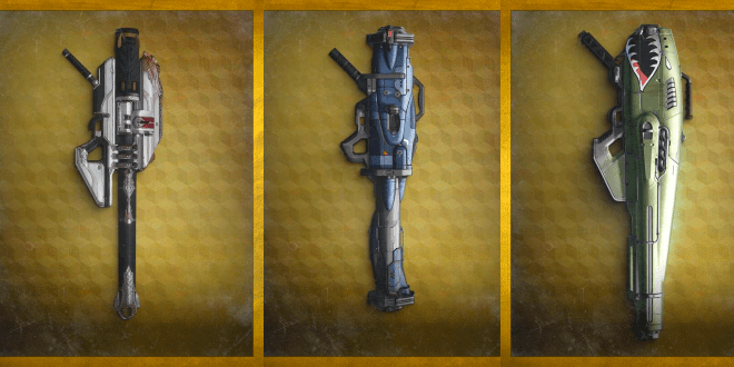 destiny exotic rocket launcher compare