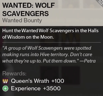 wolf scavengers