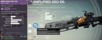 amplified geo sniper rifle