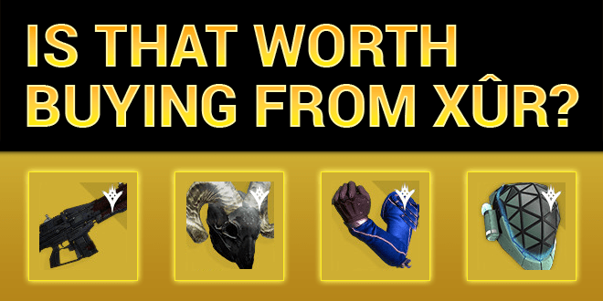 xur worth buying red death