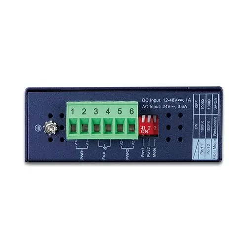 IGT-1205AT Industrial Media Converter top