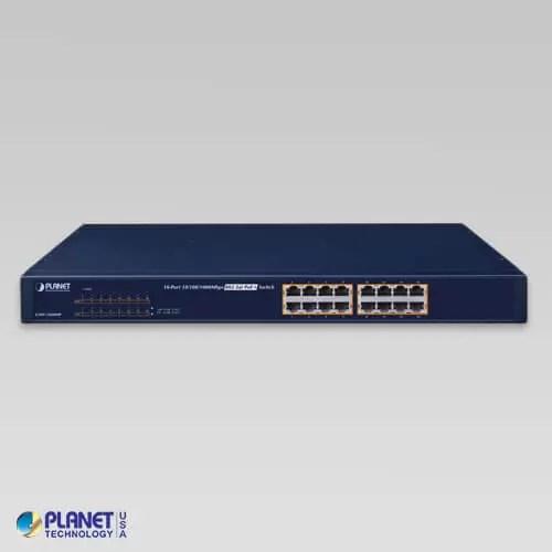 GSW-1600HP PoE Switch V2 Front