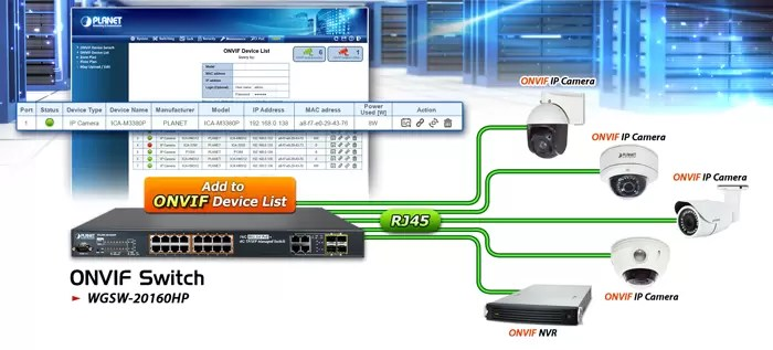 WGSW-20160HP ONVIF Devices