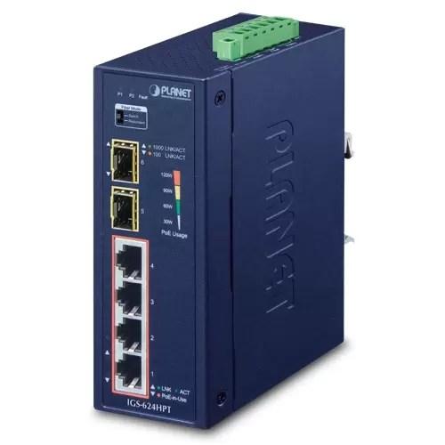 IGS-624HPT PoE Switch