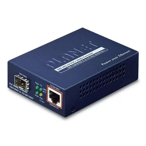 GTP-805A PoE Media Converter