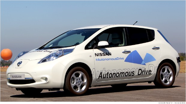 self-driving-nissan-leaf