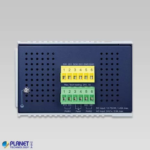 IGS-12040MT Industrial Switch Top