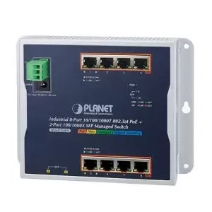 WGS-4215-8P2S PoE Switch