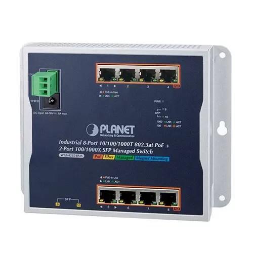 WGS-4215-8P2S PoE Switch
