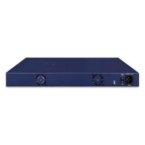 GS-4210-16P4C PoE Switch back