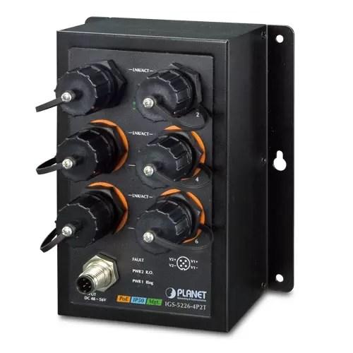 IGS-5226-4P2T PoE Switch