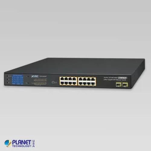 GSW-1820VHP PoE Switch