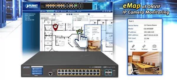 eMap of ONVIF